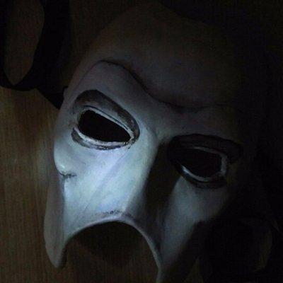 La mascara del mayor enemigo del Centinela.