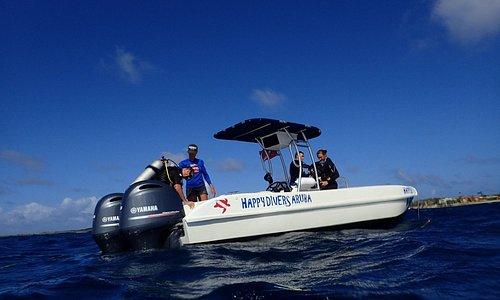 Service at sea!