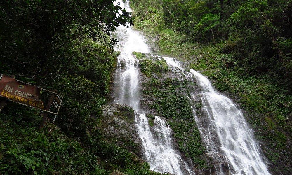 Langganan Waterfall 景觀