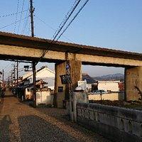五新鉄道跡