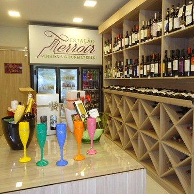 Loja Estação Terroir Vinhos e Gourmeteria