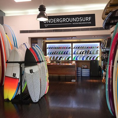 Underground Surf 400+ Surfboards, Accessories, SUP'sj, clothing and gifts