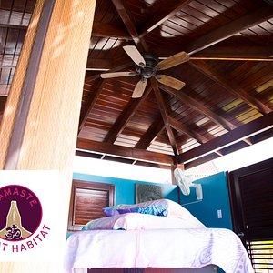 Seaside Cabana for Massages, Scrubs, Pedicures & More...