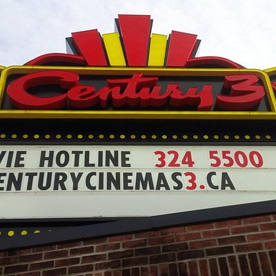 Century Cinemas 3.  Come see a movie and enjoy a night out!