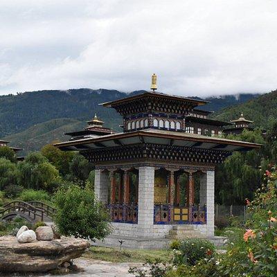 Ludrong Memorial Garden, Langjophakha, Thimphu