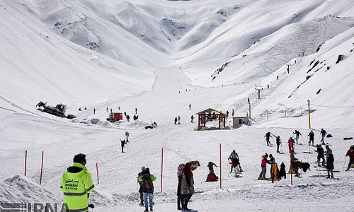 Shirbad Ski Resort ; With the access of the one valley. Shirbad have only the largest  skiing ar