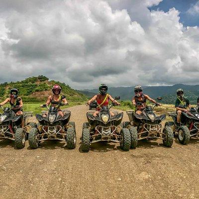 Group of friends, 3 Hour ATV Tour, Jaco Costa Rica