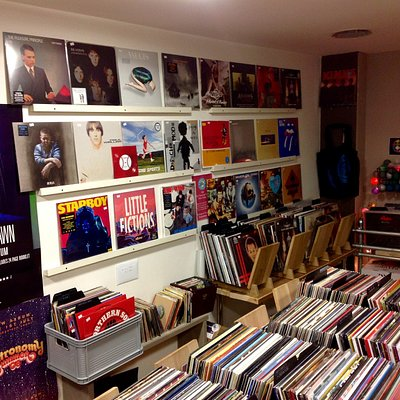 Vintage & Vinyl - Fantastic clean used records, and a huge selection of new records