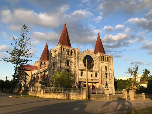 Basilica at dawn