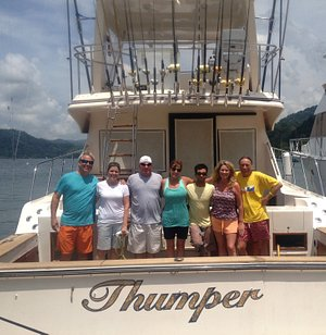 Marlin fishing charter expeditions