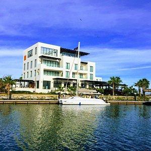 Departure is from the dock next to Hotel El Ganzo in Puerto Los Cabos