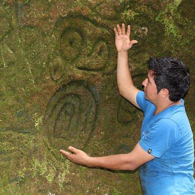 Petroglifo de Cumpanama Tours Balsapuerto