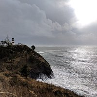 View of Cape Disappointment Lighthouse