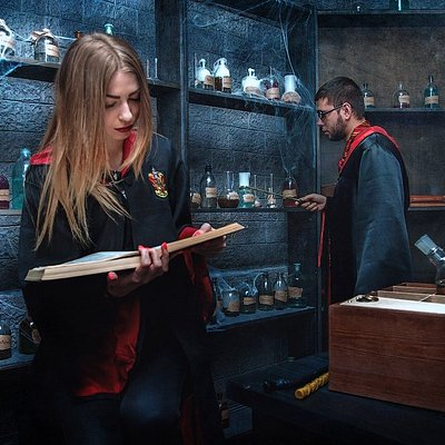 Квест в поисках крестража (По мотивам историй о Гарри Поттере)