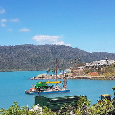Cyclone Damage at Shute Harbour