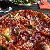 Pizza Diavolo - scharf und lecker