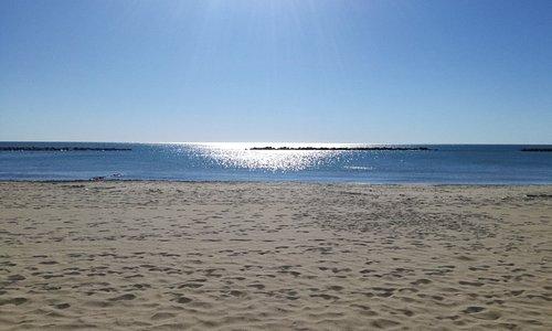 Santa Marinella, il mare d'inverno