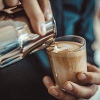 Latte art training available