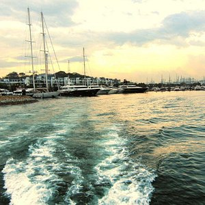 Catch the sunset as we sail you to celebrations!