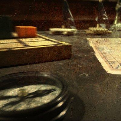 Una stanza a tema piratesco: Il soffio della maledizione.