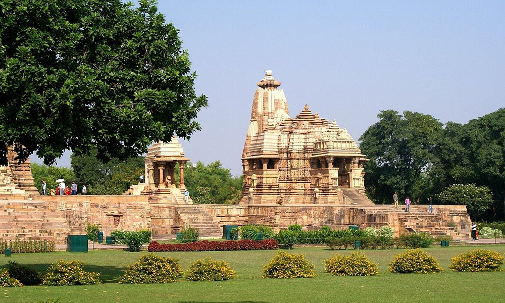 Vue d'ensemble du temple