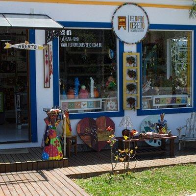 Fachada da loja (Outubro de 2017)