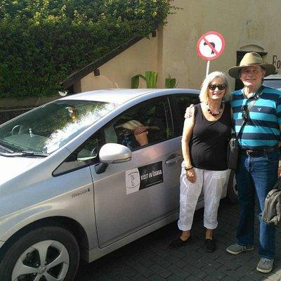 Tour with Austrailian Clients - Chauffuer Romesh