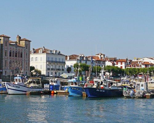 Le port de Saint Jean de Luz vu depuis Ciboure - Pays de Saint-Jean-de-Luz - Terre & Côte Basque