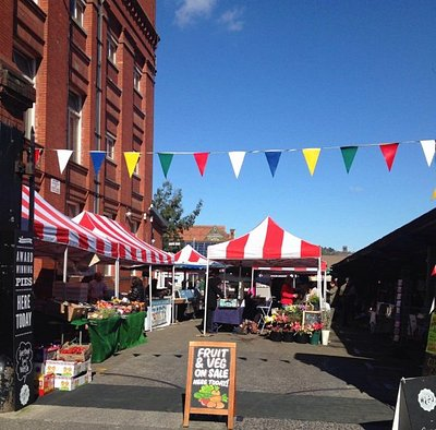 Our lovely market on a Sunday day!