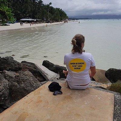 Borta bra men hemma bäst! Maria, Informatör, Skurups kommun, på resa till Filippinerna, jan/feb
