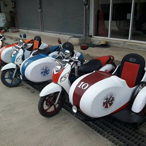 Sidecars available from Candy Road