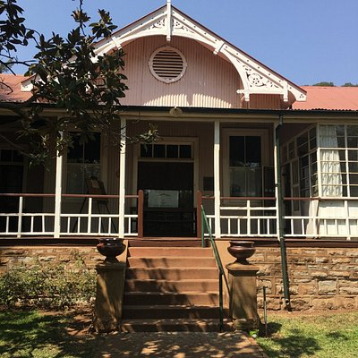 The Jan Smuts House Museum is on the grounds, a must see for curious people
