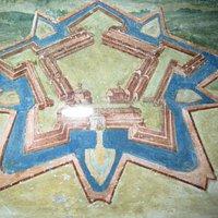 planimentria originale della Fortezza costruita da Paolo V