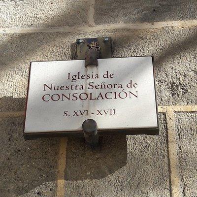 Iglesia de la Consolación, en Alcalá la Real