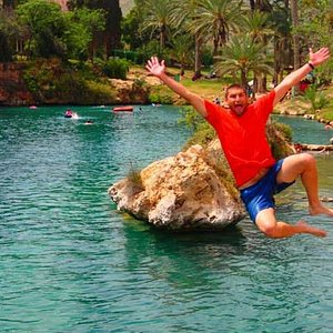 Jumping into the most beautiful places in Israel