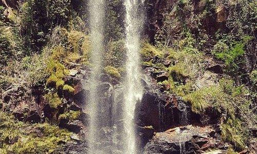 Caminhada mais forte - Cachoeira do Fantasma. Trilha nível difícil.