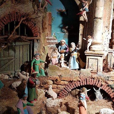 Presepe tradizionale in mostra a San Giovanni Valdarno