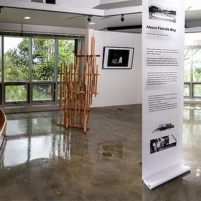 The AIRIE Nest is the gallery and event space operated by Artists in Residence in Everglades,