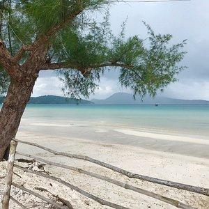 Najpiękniejsza plaża w Kambodży