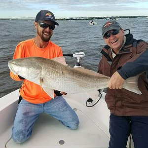 You can't beat the battle with a Ponce Inlet bull redfish