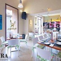 R3SPIRA, restaurant and more.......