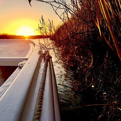 "Wombat Charters Napa California. Wetlands Sunset Tours! Captain ""Aussie"" Bob"