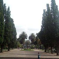 Praça central de Vacaria