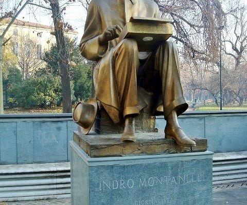 Monumento a Indro Montanelli