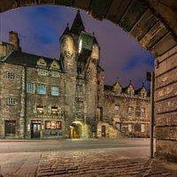 Old Tolbooth. The Royal Mile, Edinburgh, Scotland.