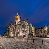 St. Giles. The Royal Mile, Edinburgh, Scotland.