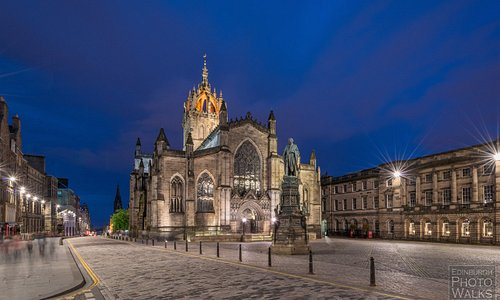 St. Giles. The Royal Mile, Edinburgh, Scotland.