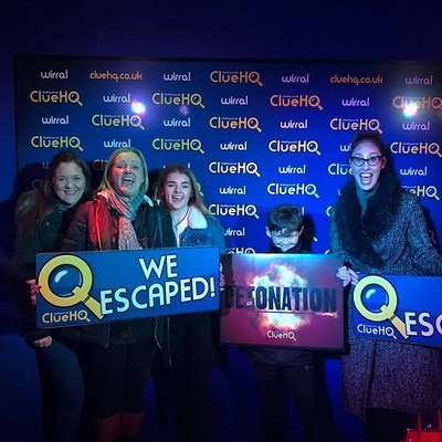 We escaped!!
