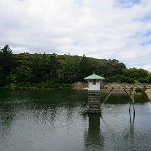 Ross Creek Reservoir - valve tower