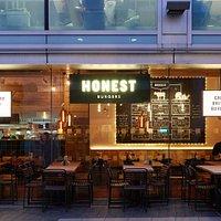 Outside Honest Burgers - South Bank